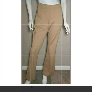 NEW Chicos Khaki Dress Pants Size 2 Ultimate Fit